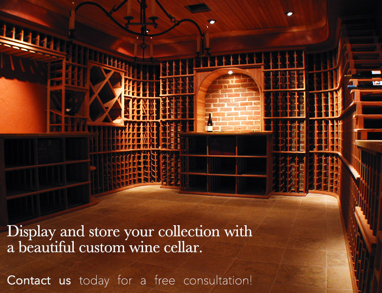 Build a wine cellar with Wine Hardware of Sonoma!